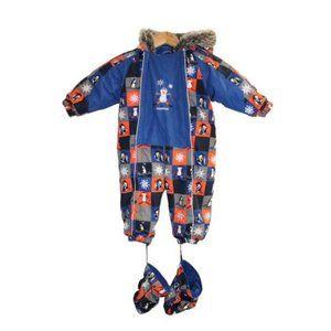 Oshkosh Baby Penguin One Piece Pram Snow Suit